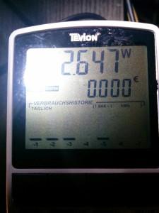 Stromverbrauch RPi2